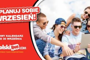 Polski Bus - nowy kalendarz przewoźnika